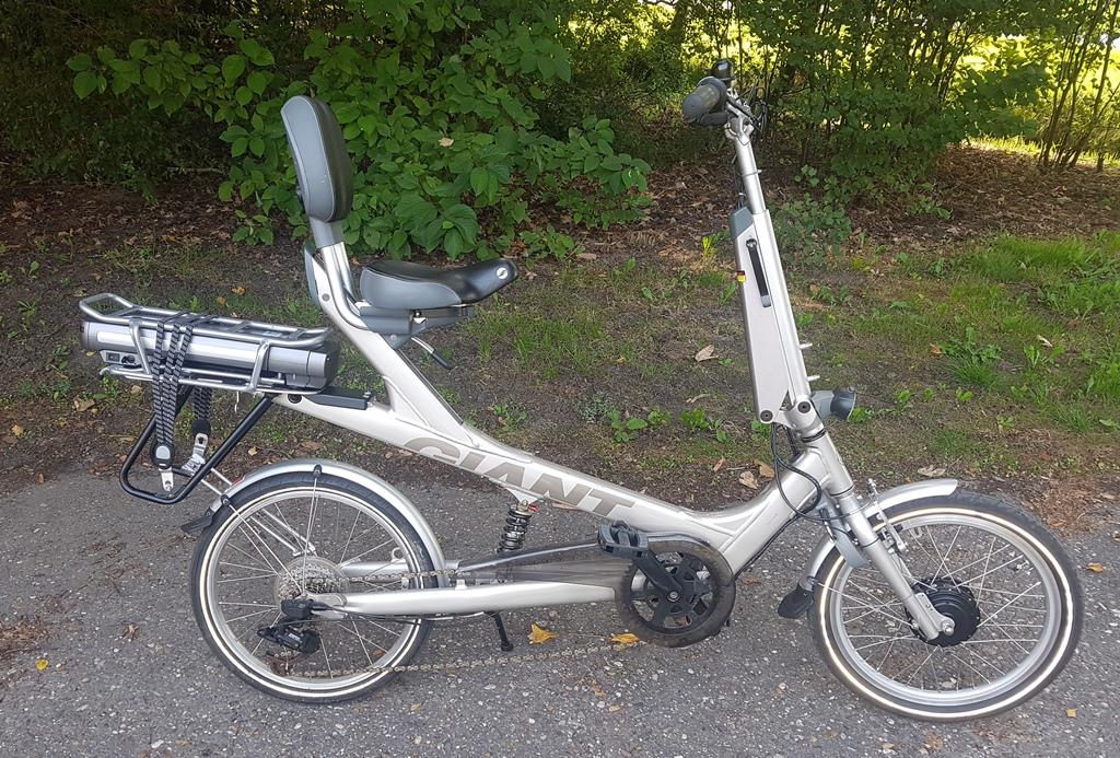 ebike giant revive comfort T21 ligfiets €1495