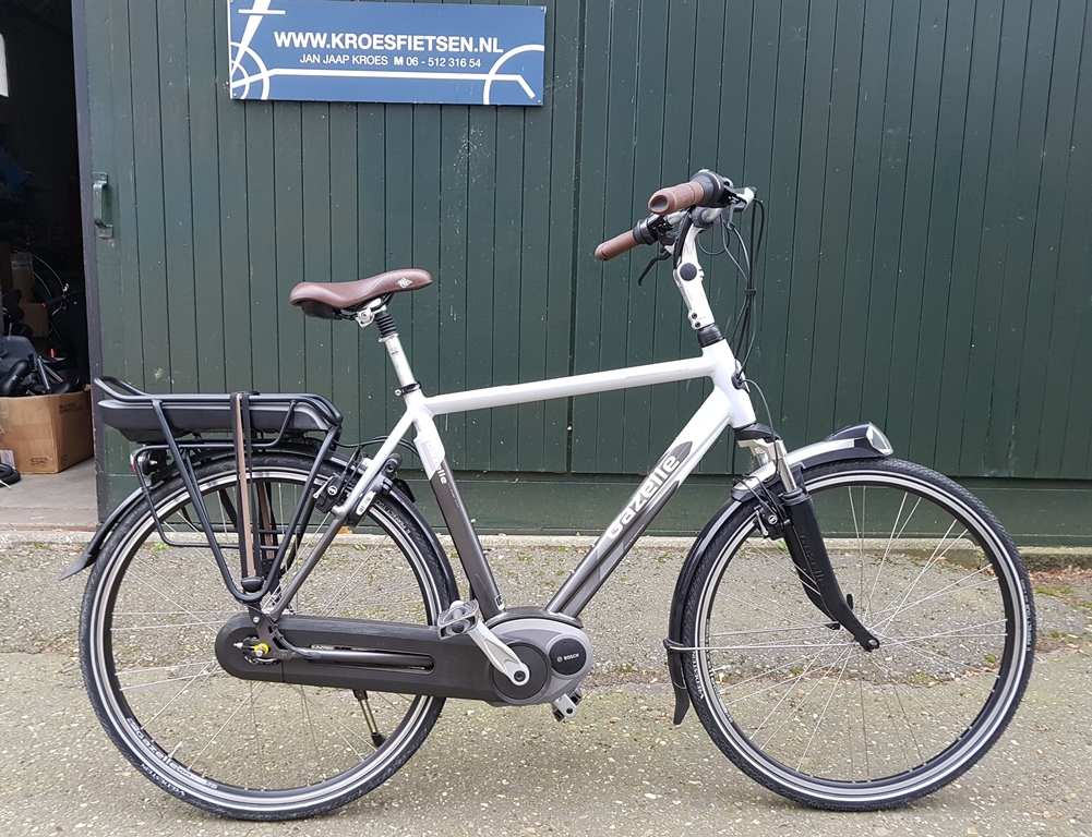gazelle orange HMB bosch middenmotor H57 cm €1550