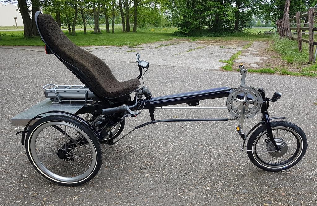 usva driewieler elektrisch 522 wh €2350