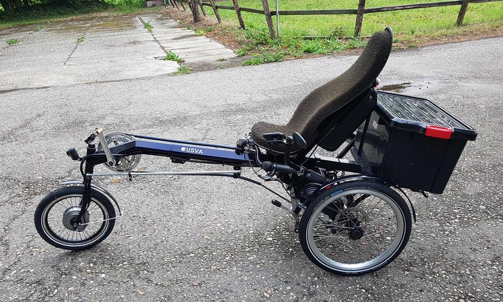 usva comfort driewieler elektrisch 522 wh nieuw €2350