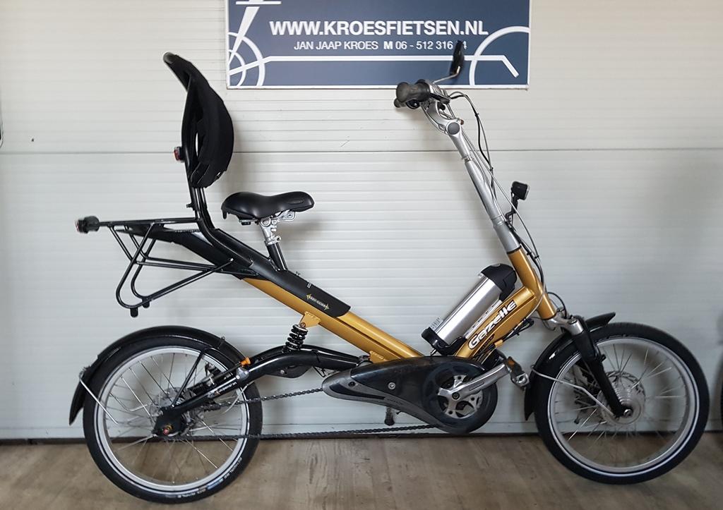 elektrische gazelle easyglider n8 semi-ligfiets€899